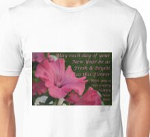 New Year Greeting Unisex T-Shirt