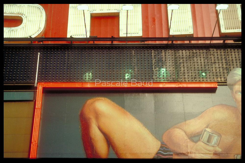 Publicity - Times Square, NYC, 1988 by Pascale Baud