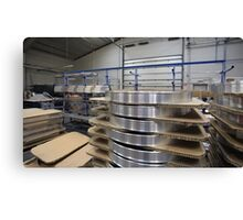 industrial assembly shop Canvas Print