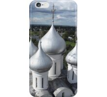 Church domes top view iPhone Case/Skin