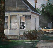 1960's suburbia by paintingeezer