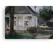 1960's suburbia Canvas Print