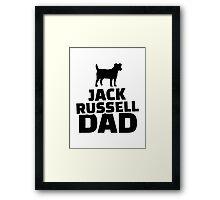 Jack Russel Dad Framed Print