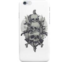 3 Skulls iPhone Case/Skin
