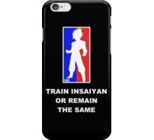 Goku Sport Logo - Train Insaiyan iPhone Case/Skin