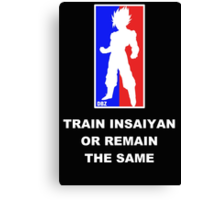 Goku Sport Logo - Train Insaiyan Canvas Print