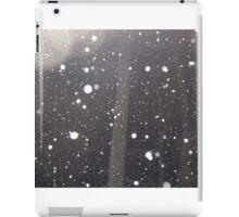 Snow falling iPad Case/Skin