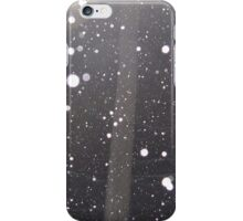 Snow falling iPhone Case/Skin