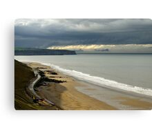 The North Yorkshire Coast, After A Storm Canvas Print