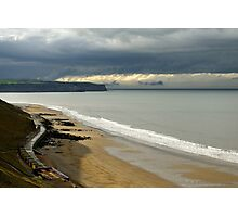 The North Yorkshire Coast, After A Storm Photographic Print