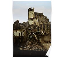 Demolition of an industry 1 Poster