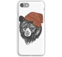 zissou the bear iPhone Case/Skin