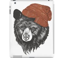 zissou the bear iPad Case/Skin