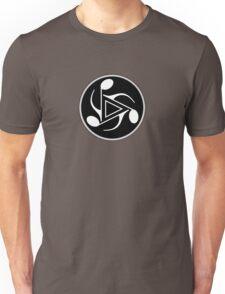 Music Notes black & white Unisex T-Shirt