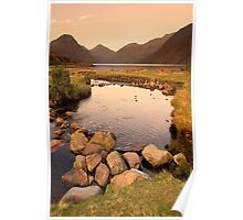Wast Water Rockpool Poster