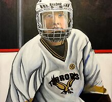 """""""Hockey Player""""  by Eric Houghland"""