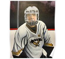 """Hockey Player""  Poster"