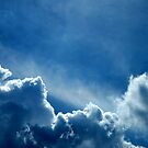 HEAVENLY BLUE CLOUDS by RockyWalley