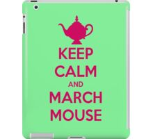 KEEP CALM AND MARCHMOUSE iPad Case/Skin