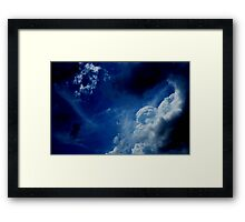 HEAVENLY CLOUDS II Framed Print