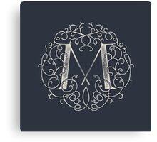 """M""ONOGRAM Canvas Print"