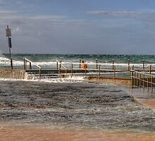 Tidal Pool - Sydney Beaches - The HDR Series - Mona Vale Beach Pool, Sydney Australia by Philip Johnson