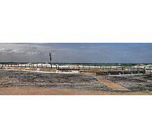 Tidal Pool - Sydney Beaches - The HDR Series - Mona Vale Beach Pool, Sydney Australia Photographic Print