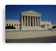 The Supreme Court of the USA Canvas Print