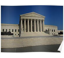 The Supreme Court of the USA Poster
