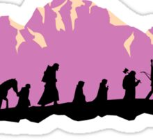 The Fellowship of The Ring Sticker