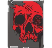 sQk! (red) iPad Case/Skin