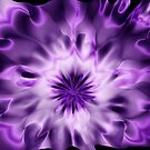 Purple abstract by Annika Strömgren