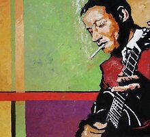 Jazz Guitarist  by Yuriy Shevchuk