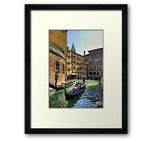 Things to do in Venice Framed Print