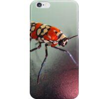 Ailanthus Webworm Moth, or Atteva punctella  iPhone Case/Skin