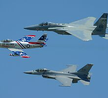 USAF Heritage Flight by ScottH711