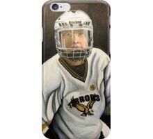 """Hockey Player""  iPhone Case/Skin"