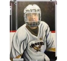 """Hockey Player""  iPad Case/Skin"