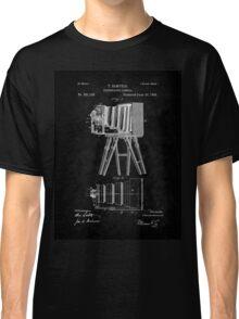 1885 View Camera Patent Art-BK Classic T-Shirt