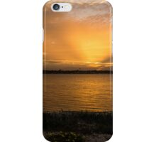 Soft Rays Sunset iPhone Case/Skin