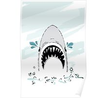 Crying Shark Poster