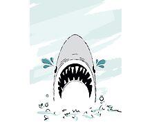 Crying Shark Photographic Print