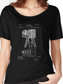 1885 View Camera Patent Art Women's Relaxed Fit T-Shirt