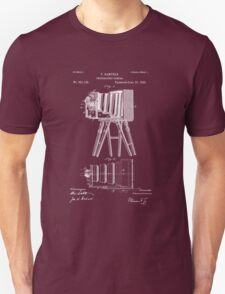 1885 View Camera Patent Art T-Shirt