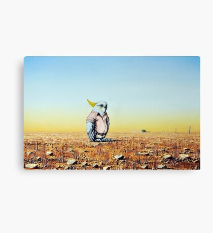 Out Standing In His Field Canvas Print