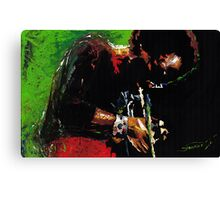 Jazz Miles Davis Canvas Print