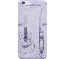 1941 Gretsch Guitar Patent iPhone Case/Skin
