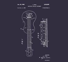 Les Paul Patent Image-Filed Dec. 3, 1959 (PD) Unisex T-Shirt