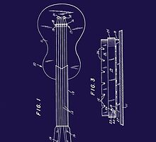 Les Paul Patent Image-Filed Dec. 3, 1959 (PD) by Barry  Jones