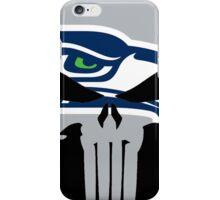 Seahawks Skull  iPhone Case/Skin